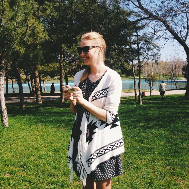 Look at this pretty lady! You should have seen the excitement of our art director Tanya about #quadcopter Pure #happiness