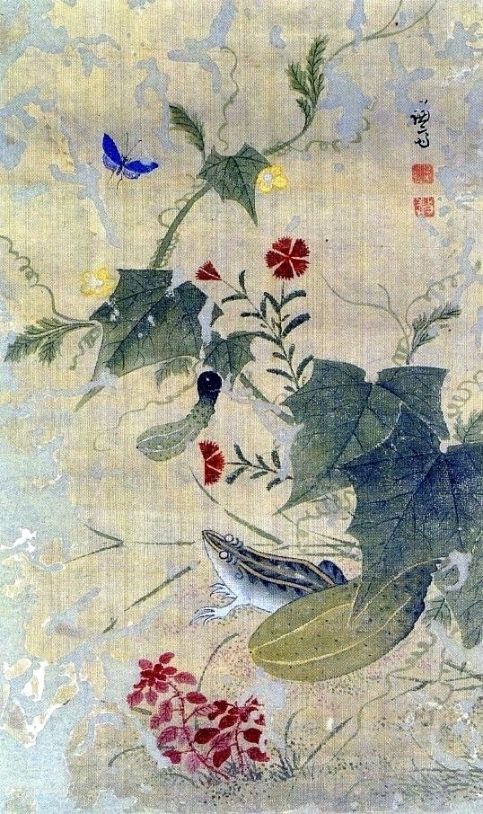 과전전계 by Gyeomjae Jeong Seon (1676- 1759) Korea.