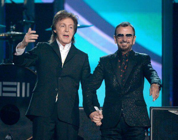 Ringo Starr & Paul McCartney's Grammy Performance — Beatles Honored - Hollywood Life