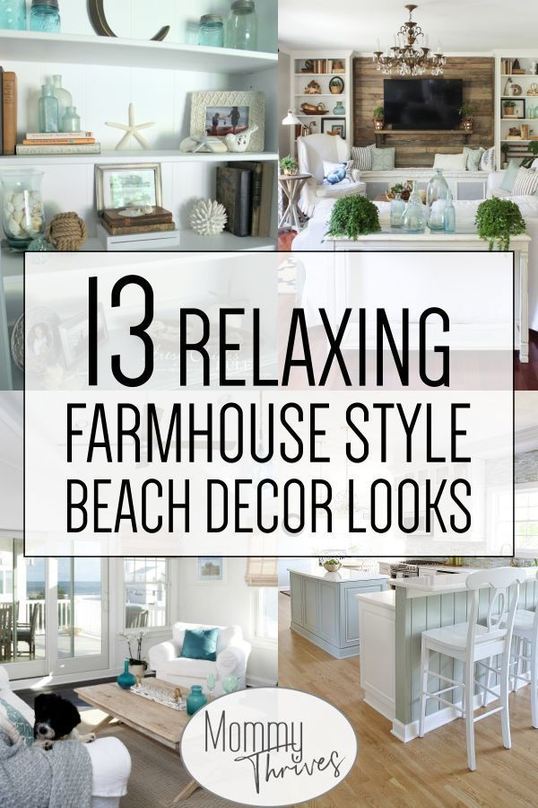 Awesome Living Room Ideas With Beachy And Coastal Style 22 Coastal Farmhouse Decor Beach Cottage Decor