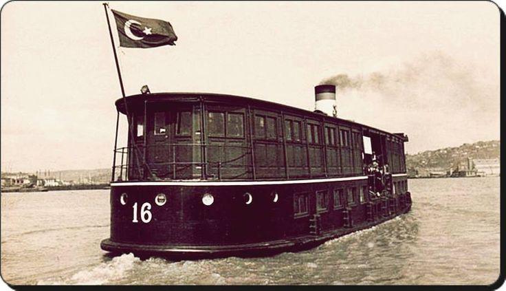 Büyükada vapuru Istanbul Turkey 1863