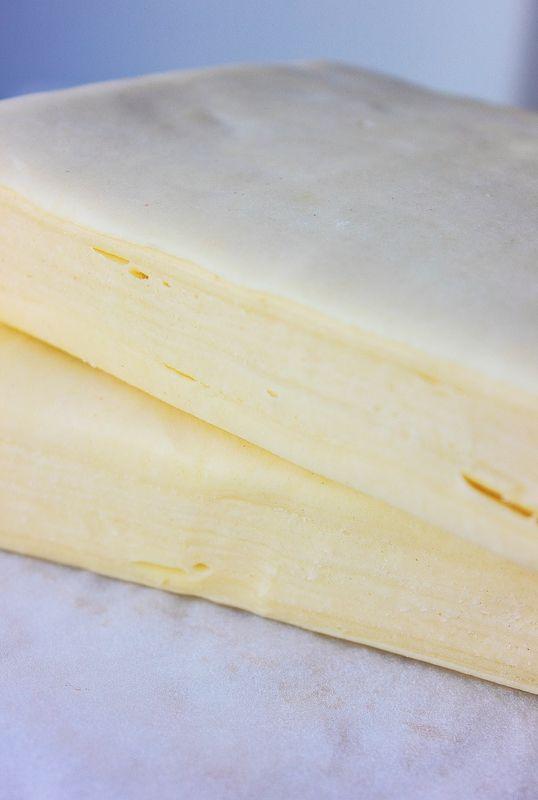 Pâte feuilletée : Etapes pas-à-pas en images réalisation de la pâte feuilletée ( Christophe Fellder )