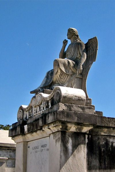 Built in 1833, Lafayette Cemetery No. 1 remains a testament to the New Orleans' history.