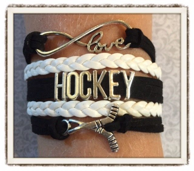 Hockey Wrap Bracelet, $20.00