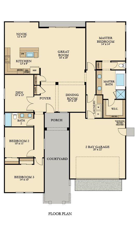 35 Best Images About Lennar Floorplans Single Story On