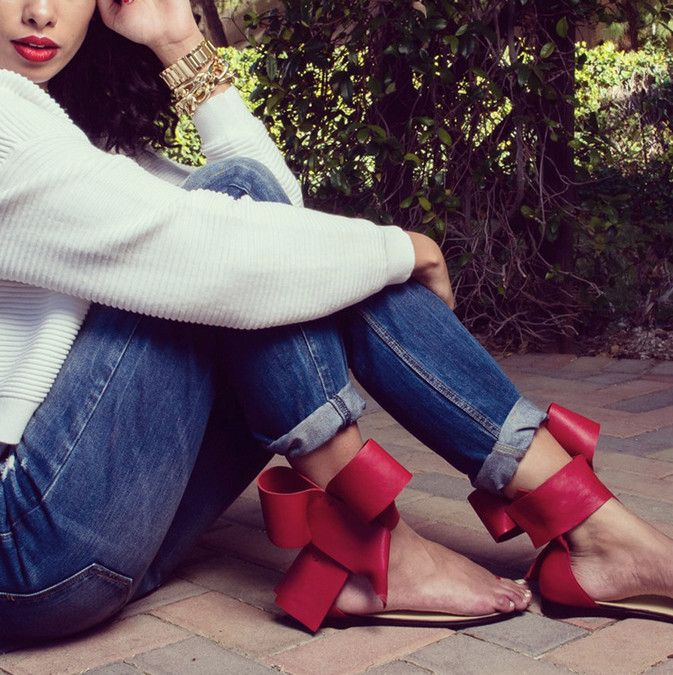 Ženy Sandály 2015 Summer Style Sexy Bowite žabky Žena Sandalias Ploché Heel dámské boty Zapatos Mujer-in Dámské sandály z boty na Aliexpress.com | Alibaba Group