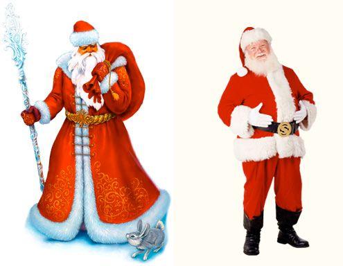 История Новогодней елки. Чем отличается Дед Мороз и Санта Клаус. Интересные факты про Новый год. |