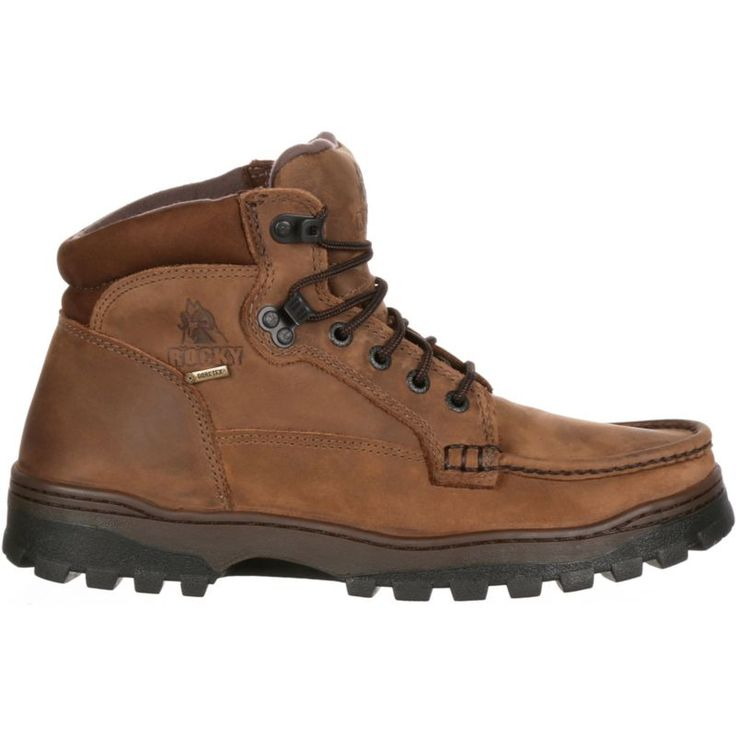 """Rocky Men's Outback Hiker 5"""" Gore-TEX Hiking Boots, Size: 10, Brown"""