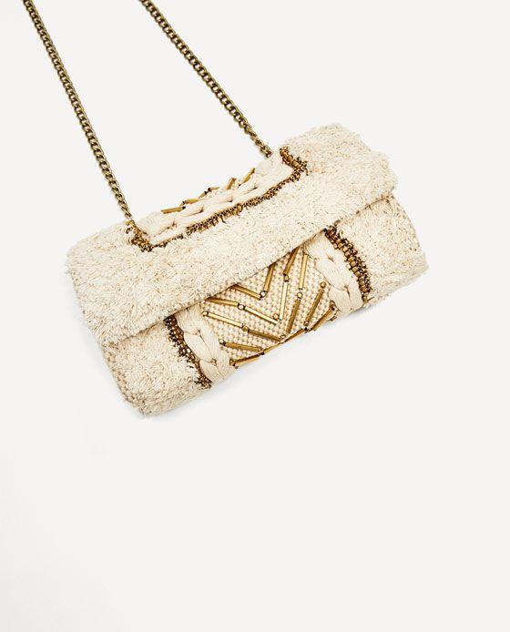 Image 3 of FABRIC CROSSBODY BAG from Zara