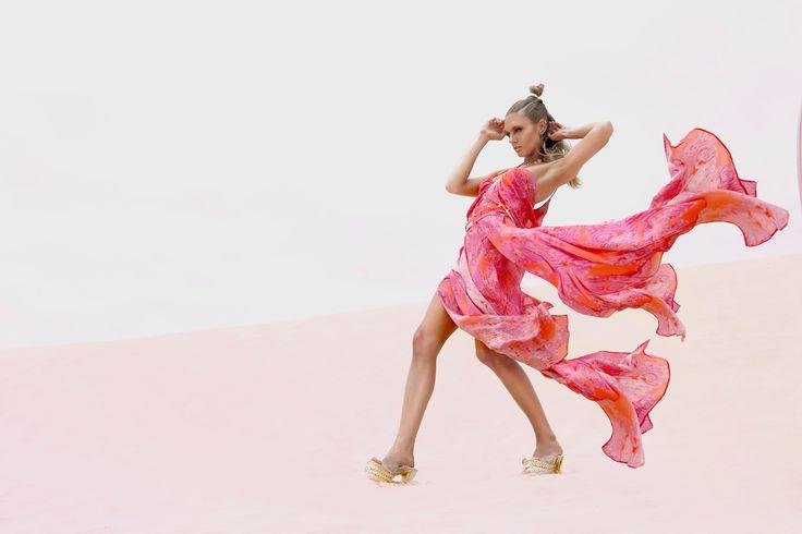 Ixiah Spring 13 - Red Print Dress
