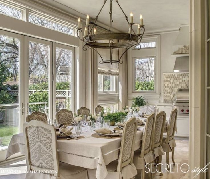 205 Best Tuscan Dining Room Ideas Images On Pinterest Island Curtains And Home