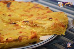 Frittata di Patate, cipolla e tonno, secondo piatto