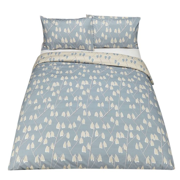 buyjohn lewis scandi lotta print cotton duvet cover and pillowcase set single mineral online