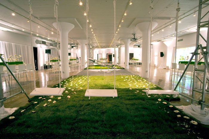 Designed by event creative c e o sean cannon venueone is - Room decor for small rooms ...