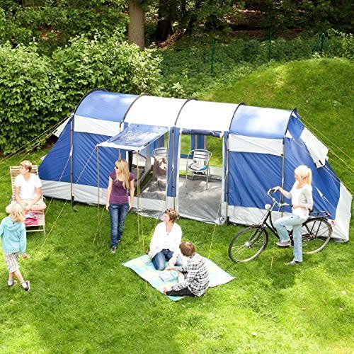 skandika Montana 6 Person/Man Tunnel Family Tent C&ing Column Blue New & Best 25+ 6 man tent ideas on Pinterest | 4 man tent Big tent and ...