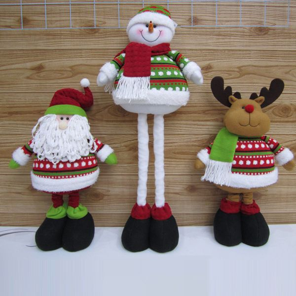 Aliexpress.com : Buy Free shipping 2013 classic Christmas decoration Big size 68cm santa clause snow man and reindeer extended decoration SHB025 from Reliable decor and suppliers on Men's choice $18.66