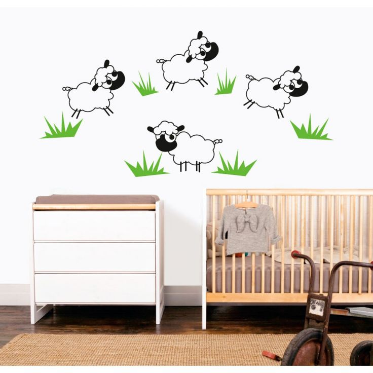 Wall decals - TheWonderwalls® | Funny Sheeps Wall Stickers/Decals