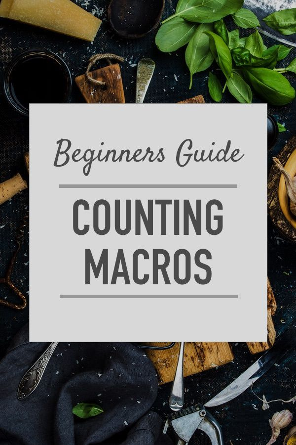 How to count macros to achieve lasting weight loss, or increase lean muscle mass.