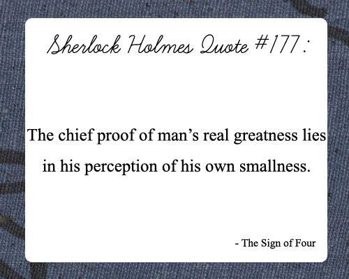 Sherlock Holmes Quotes Sherlock holmes quotes on