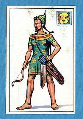 ARMI E SOLDATI - Edis 71 - Figurina-Sticker n. 33 - ARCIERE SCITA -Rec