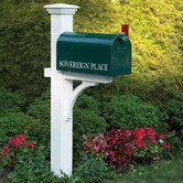 Found it at Wayfair - Lazy Hill Farm Sovereign Mailbox Post