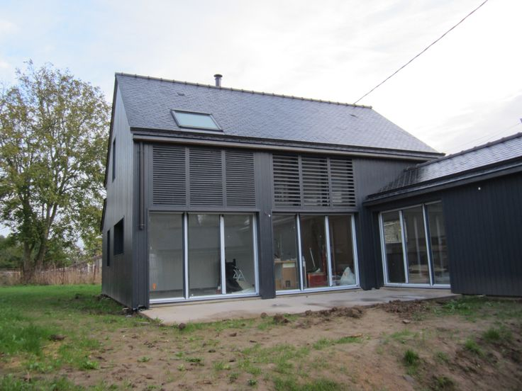 Les 55 meilleures images du tableau maison ossature for Extension maison ossature metallique
