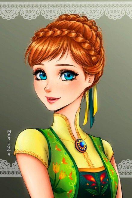 princesas da disney versão mangá 3