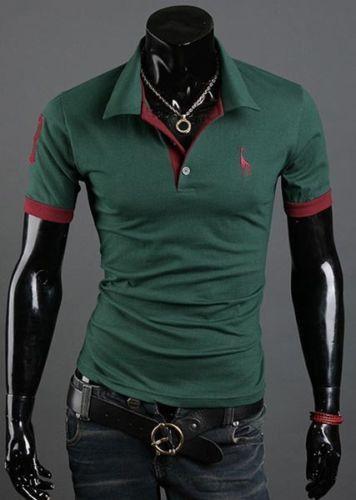 T Shirt Polo Mens Short Sleeve Shirts