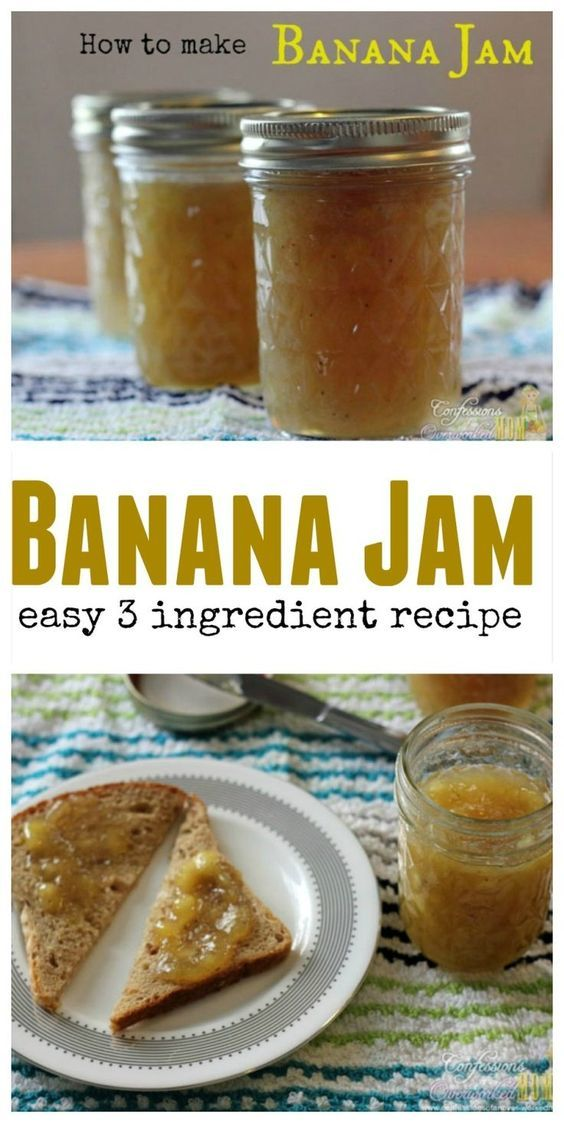How To Make Banana Jam. ** See even more at the photo link