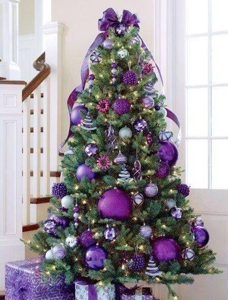Love this purple Christmas Tree