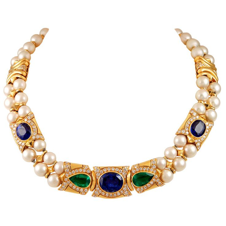 Bulgari Pearl Necklace: 12 Best Emerald Jewelry Images On Pinterest