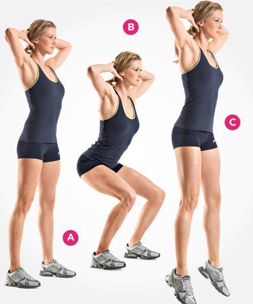 7 Types of Squats