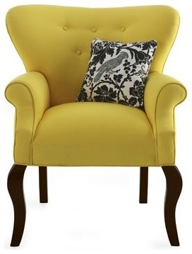 """Haute House """"Elise"""" Chair in yellow"""