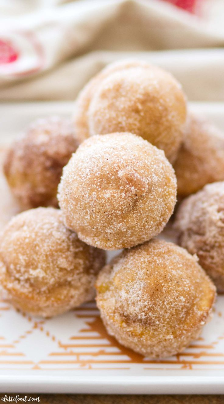 These Baked Pumpkin Donut Holes are full of pumpkin flavor and sweet spices, and rolled in cinnamon sugar! Homemade pumpkin donut holes are such a quick and easy fall dessert, as well as making theperfect breakfast or brunch! We spent the holiday weekend up at our family cabin in the mountains, where they hold acontinue reading ...