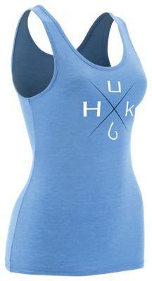 HUK Tri-Blend Series Tank Top for Ladies - Heather Carolina - XS