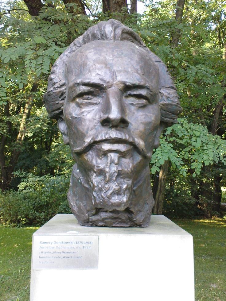 xawery dunikowski, jarosław dąbrowski (z cyklu: głowy wawelskie), ok. 1958, brąz, królikarnia-warszawa