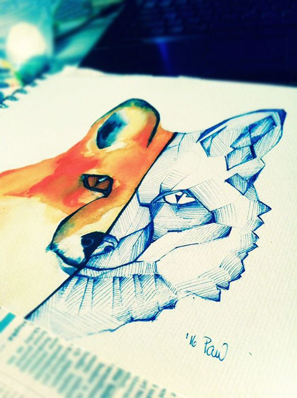 foxisfriend by Pau4art.deviantart.com on @DeviantArt