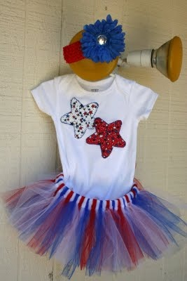 Super Cute Girls 4th of July Outfit