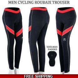 men cycling padded trou..