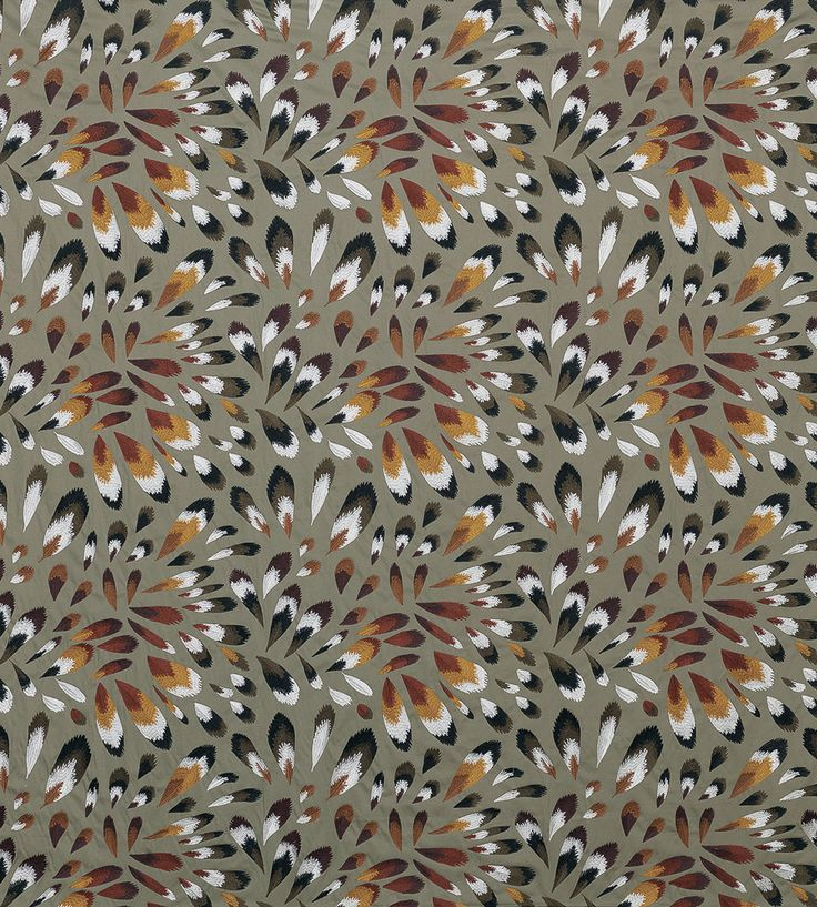 70s Interior Design Revival   Fombelle Fabric by Lorca   Jane Clayton