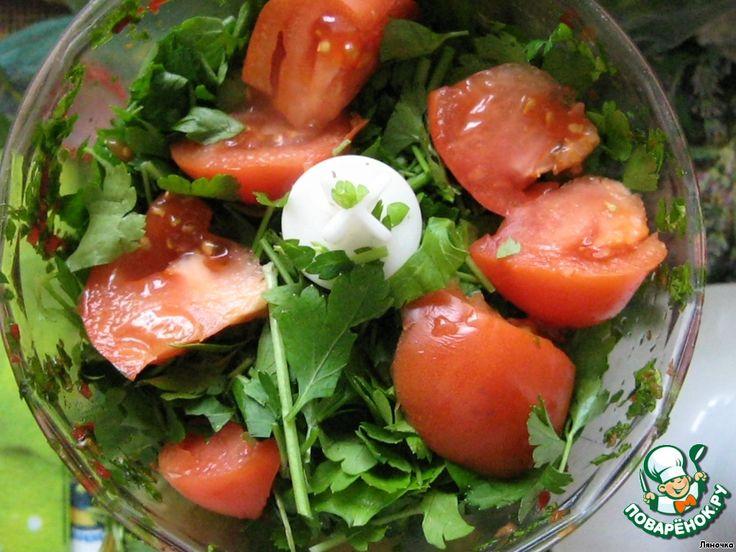 Зеленый соус ингредиенты