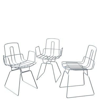 Nais chair by Alfredo Häberli for Classicon