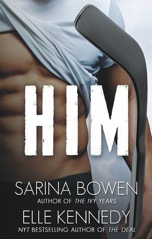 Reseña #240 - Him   Autor: Sarina Bowen y Elle Kennedy Editorial: Rennie Road Books Nº de páginas: 276 Saga: Him #1 Precio: 12.75 / 4.99 (E-book) ISBN: 9781942444077 Sinopsis: They dont play for the same team. Or do they? Jamie Canning has never been able to figure out how he lost his closest friend. Four years ago his tattooed wise-cracking rule-breaking roommate cut him off without an explanation. So what if things got a little weird on the last night of hockey camp the summer they were…
