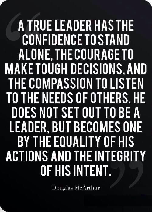 Are you a leader?   If so talk to me! I may just have something to offer you......