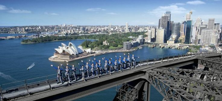 Will definately being The Bridge Climb...