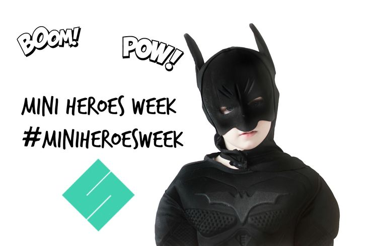 Keep Up With The Jones Family: Mini Heroes week with Square Snaps