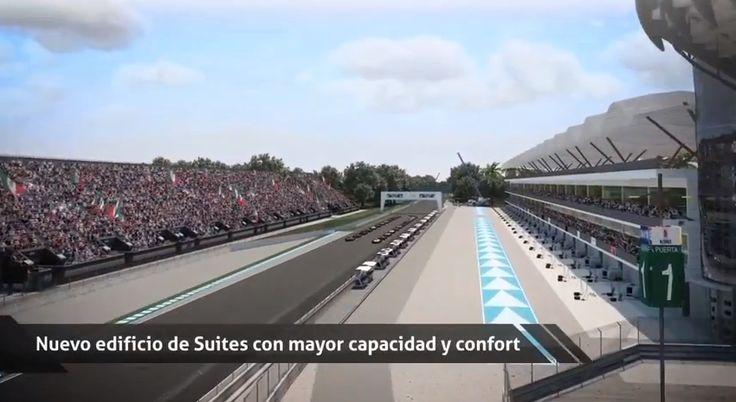 Proyecto Fórmula 1 México 2015 - Autódromo Hnos. Rodríguez @autodromohr   #VIDEO https://www.youtube.com/watch?v=FZr6jEjds2Q#t=165