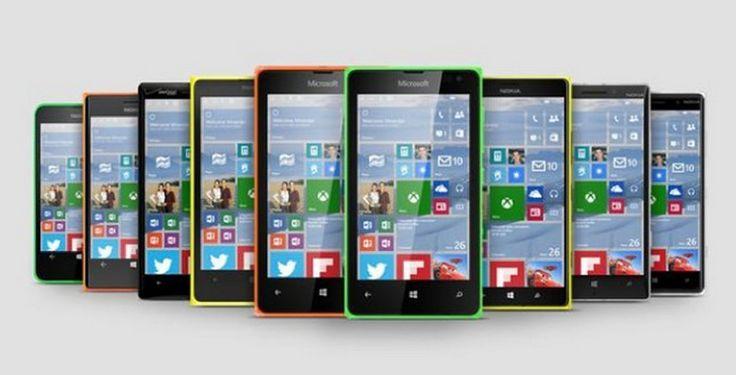 Microsoft Lumia 550, Ponsel Windows 10 4G LTE