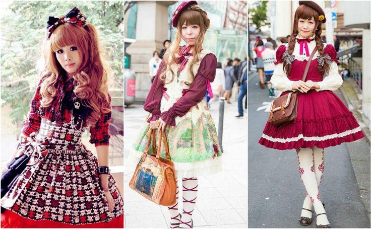 Японская мода - Стиль Лолиты