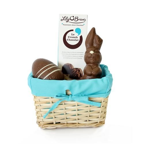 14 best luxury chocolate keepsakes images on pinterest luxury le crunch chocolate easter basket 265g available at lilyobriens negle Choice Image